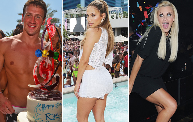 Vegas Sightings: J.Lo, Ryan Lochte, Single Jenny McCarthy & Prince Harry!
