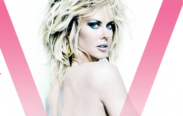 Nicole Kidman Goes Topless, Flashes Booty for V Magazine!