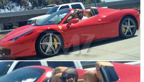 Kobe Bryant -- LAW VIOLATOR in $329,000 Ferrari