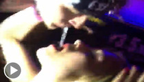 Machine Gun Kelly Spits Vodka into Fan's Mouth