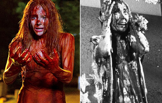"""Carrie"" Remake: See Chloe Moretz In a Very Bloody Prom Dress!"