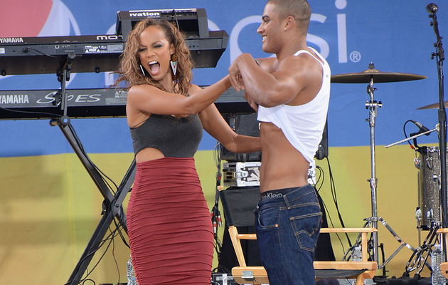 "Tyra Banks Strips Younger ""Top Model"" Judge -- Are They Dating?"