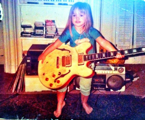 Before this little rocker became a Hollywood hottie -- she was just another little girl growing up in Los Angeles.