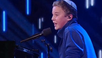 'America's Got Talent' Star -- Yarmulke Store Honors 'Jewish Justin Bieber'