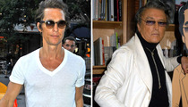 Matthew McConaughey -- The Kid Stays in the Picture!