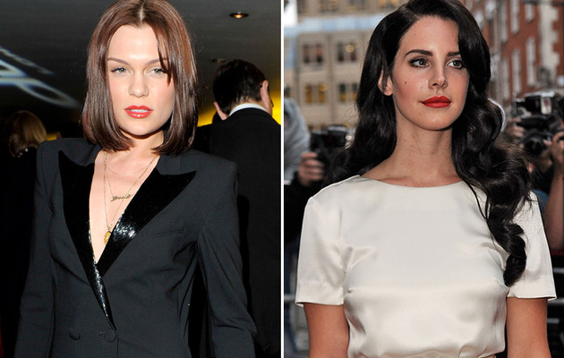Jessie J & Lana Del Rey Debut Shocking New Looks In London!