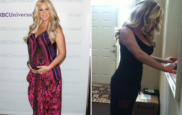 Kim Zolciak: Super Skinny Three Weeks After Giving Birth!