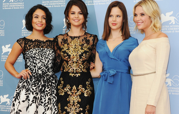 "Selena Gomez and the ""Spring Breakers"" Stun in Venice"