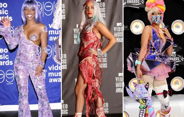 MTV Video Music Awards Wildest Fashion Through the Years!