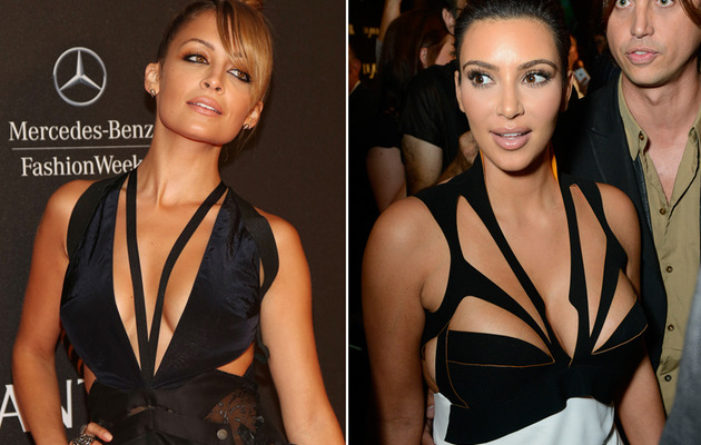 Nicole Richie vs. Kim Kardashian: Whose Cutout Dress Was Sexier?