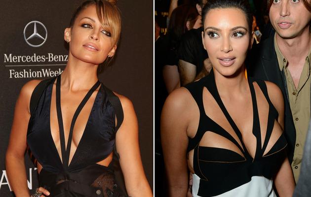 Nicole Richie vs. Kim Kardashian: Whose Cutout Dress Was Sexier?