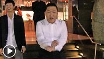 PSY -- 'Gangnam Style' Singer DANCES ON THE STREET!!!!