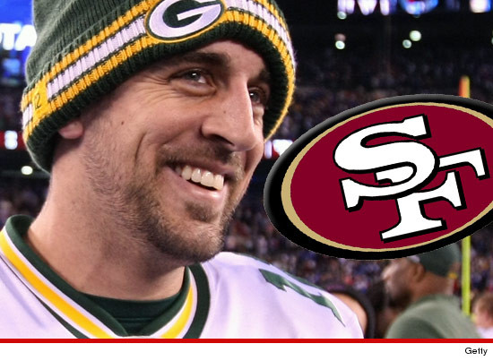 Aaron rodgers packers qb could end up in a 49ers uniform on aaron rodgers packers qb could end up in a 49ers uniform on monday voltagebd Image collections