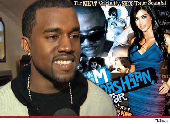 Kanye West  Watched Kim Kardashian Sex Tape While
