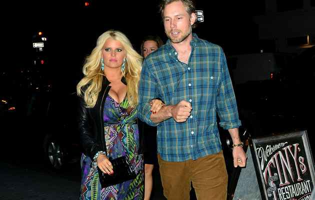 Jessica Simpson Flaunts Post-Baby Cleavage in NYC