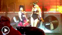 Nikki Sixx's Hot Girlfriend -- Stripper Dancin' At Motley Crue Concert [Video]