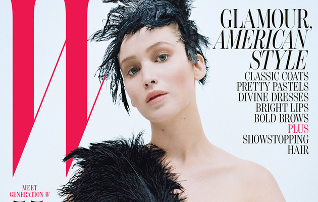 Recognize This Beautiful Black Swan? It's Jennifer Lawrence!