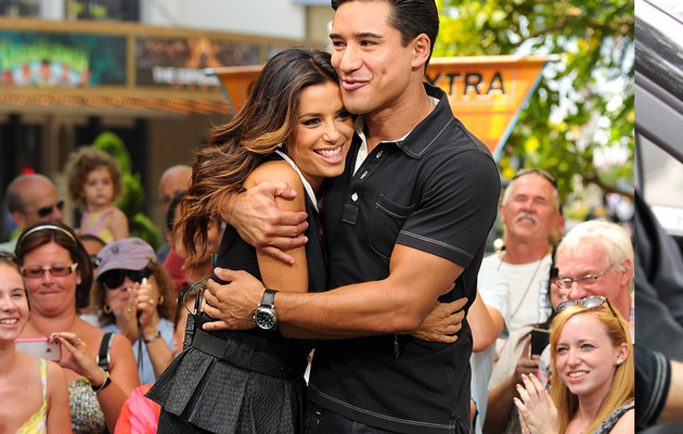 Eva Longoria Addresses Mark Sanchez Dating Rumors!