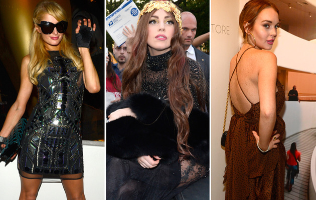 Photos: Lindsay Lohan & Paris Hilton Reunite In NYC