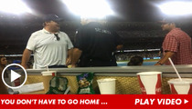 Eric Stonestreet -- 'Modern Family' Star Escorted Out of Dodgers Game