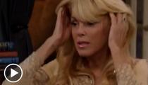 Dina Lohan -- Fidgety, Sweaty, Mumbling During Dr. Phil Interview