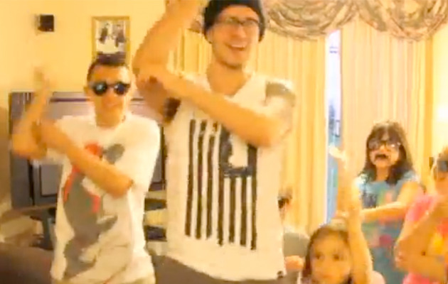 "Vinny From ""Jersey Shore"" Does ""Gangnam Style"" Video!"