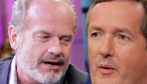 Kelsey Grammer Bolts from Piers Morgan Interview Over Camille Grammer Pic