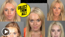 Lindsay Lohan Arrest -- The Lost Mug Shot