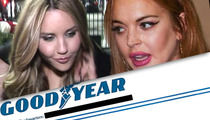 Lindsay Lohan & Amanda Bynes -- Goodyear Offers FREE DRIVING LESSONS