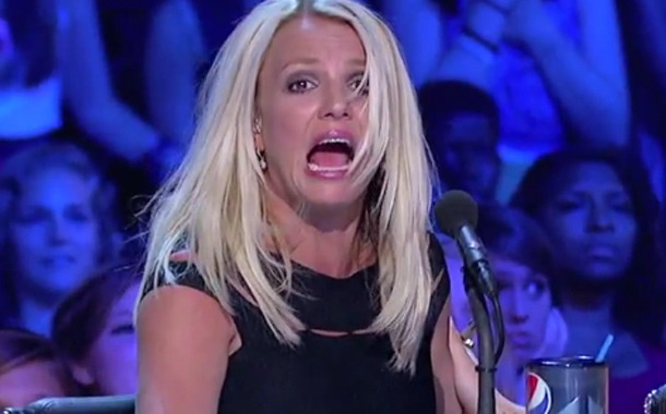 "Britney Spears Freaks Out on ""X Factor"" -- And So Does Angry Contestant!"