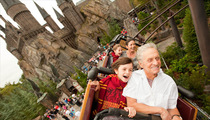 Michael Douglas and the Fam: Muggles in Paradise