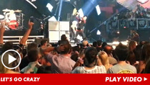 Green Day Goes NUTS at iHeartRadio Festival [VIDEO]