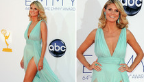 Heidi Klum & Her Legs -- Brave The Red Carpet Sans Bodyguard