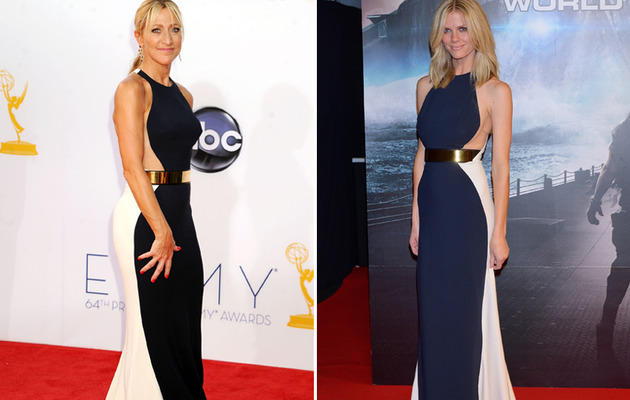 Dueling Dresses: Edie Falco vs. Brooklyn Decker!
