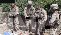 U.S. Marines Charged for Urinating on Taliban Corpses