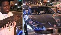 Sean Kingston -- Justin Bieber GAVE ME His Chrome Fisker Karma