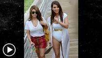 Kim Kardashian -- Gee, Your Swimsuit Looks ...