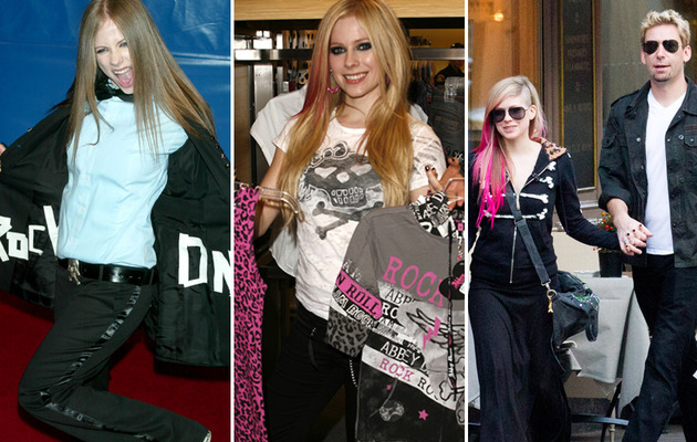 Avril Lavigne Turns 28 -- See Her Through the Years!