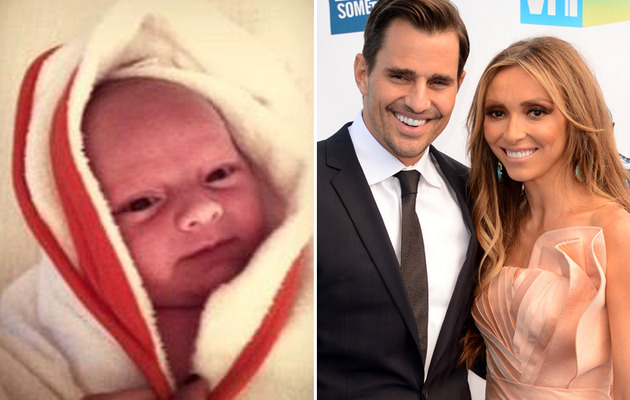 Bill Rancic Shares New Pic of Baby Duke!