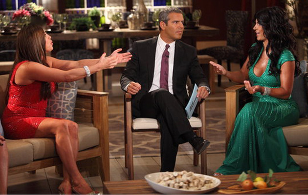 "Tears, Accusations and Death Threats Fly at ""Housewives"" Reunion"