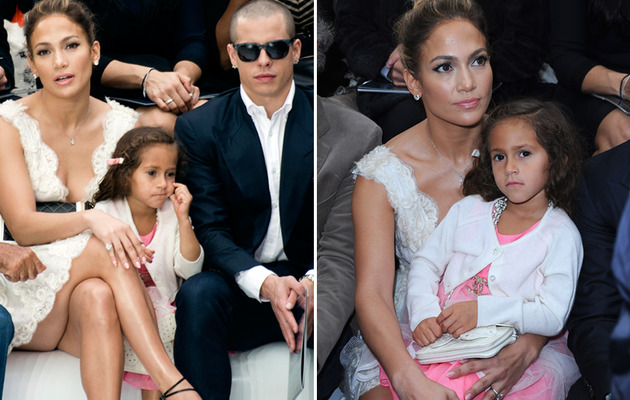 Jennifer Lopez Brings Emme to Fashion Week