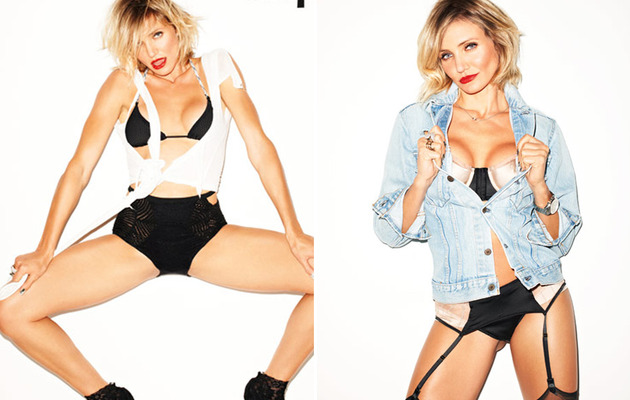 "Cameron Diaz: ""For the First Time in My Life I'm Content!"""