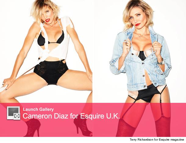 Cameron Diaz Esquire U.K.