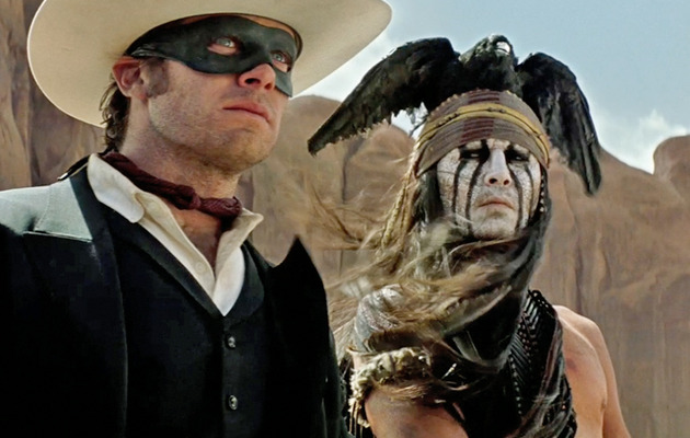 """The Lone Ranger"" Trailer: See Johnny Depp & Armie Hammer In Action!"