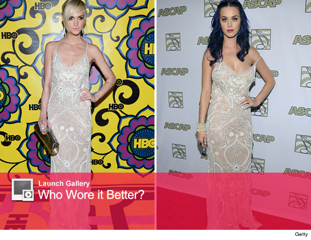 ashlee simpson katy perry temperley london