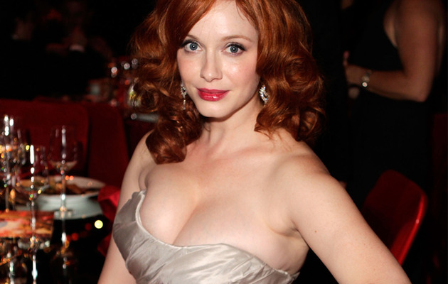 "Video: Christina Hendricks' Rep Shuts Down ""Full-Figured"" Question"