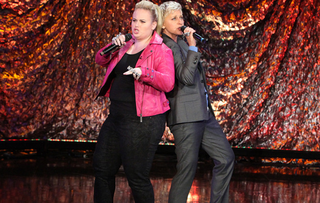 "Rebel Wilson & Ellen DeGeneres Cover Salt-n-Pepa's ""Shoop"""