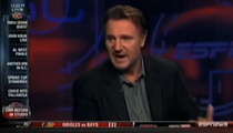 Liam Neeson Cusses on 'SportsCenter' -- I Don't Know Football
