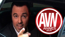 Seth MacFarlane Rejects Porn Awards -- I Can't Find an Opening