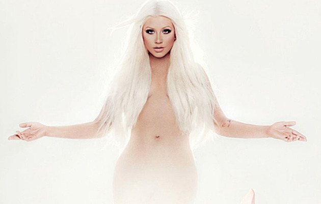 Christina Aguilera Strips Nude For New Album Cover